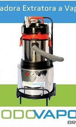 Lavadora a vapor para estofados