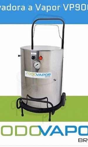 Lavadora a vapor para motores