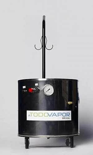 Lavadora a vapor quente