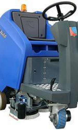 Lavadora e secadora automática de piso
