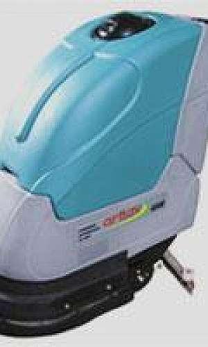 Lavadora e secadora de piso industrial