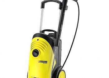 Lavadora e secadora de piso residencial
