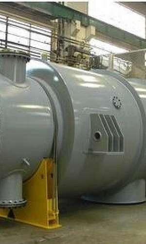 Limpeza de condensador industrial