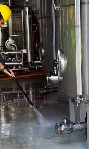 Limpeza industrial equipamentos