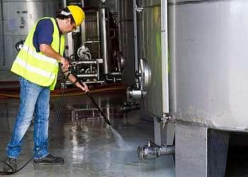 Equipamentos de limpeza industrial