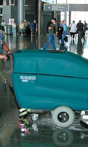 Máquina de lavar piso