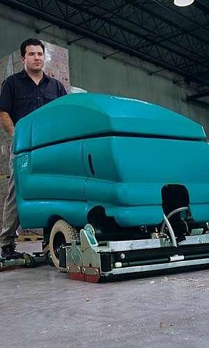 Máquina de limpeza de piso industrial