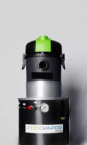 Máquina extratora para limpeza de estofados