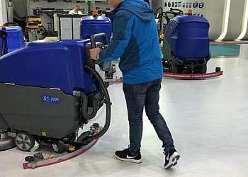 Máquinas de limpeza de piso industrial