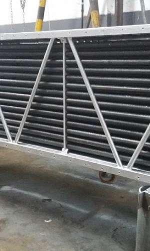 Radiador para secador industrial