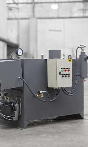 Vaporizador de gás industrial