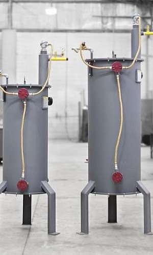 Vaporizador elétrico para glp